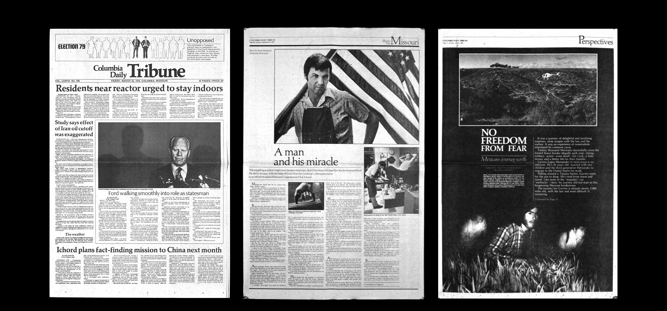 From left, photos by David Rees, Nick Kelsh, Len Lahman