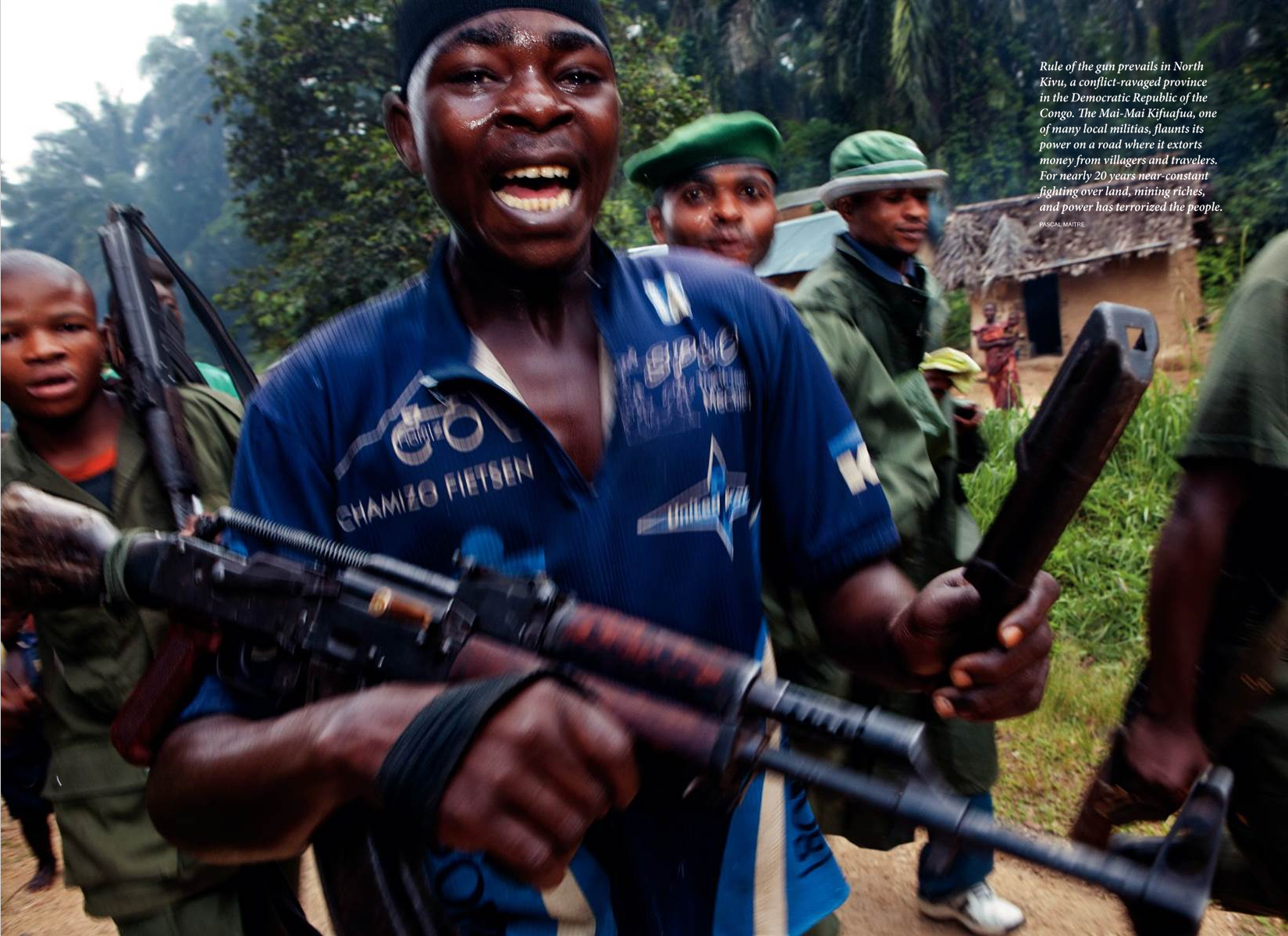 National Geographic,  November 2011,Photo by Pascal Maitre