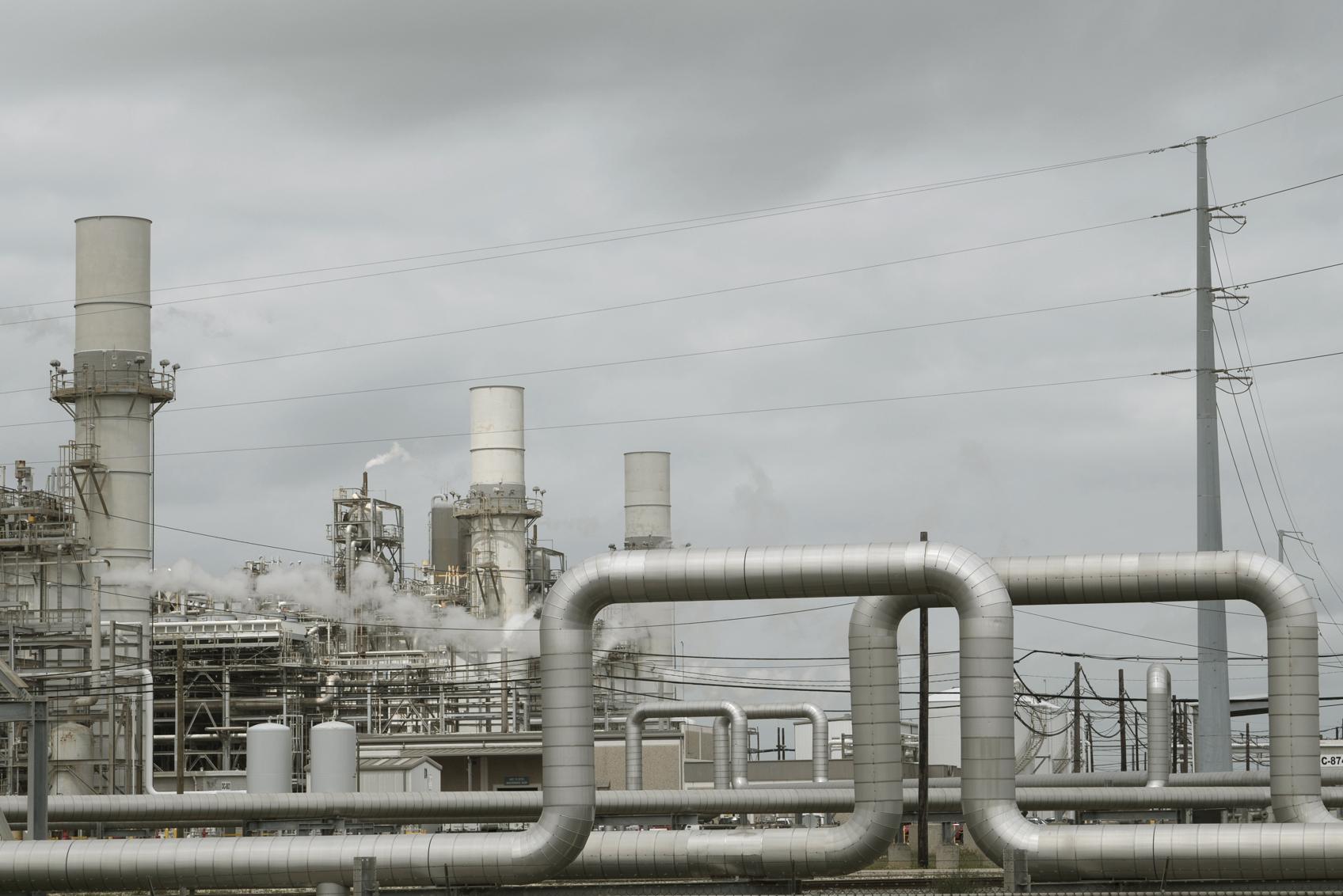 Chemical plant near Freeport, Texas.