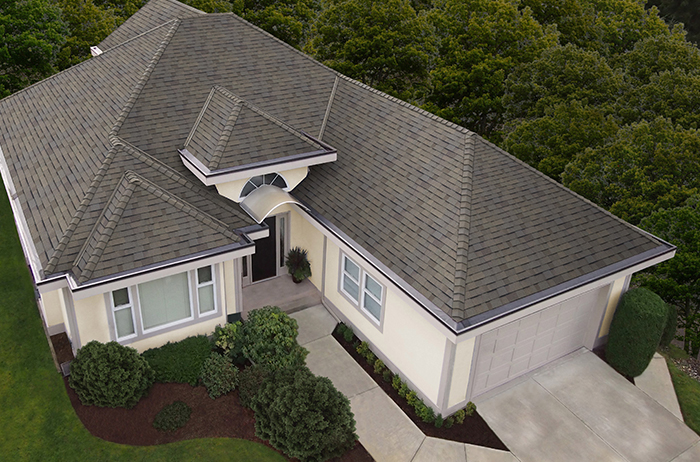 Malarkey Ecoasis Costa - Color: Willow Wood, CA Title 24 Cool Roof