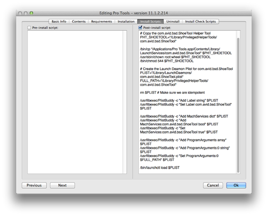 Fig 3 - Pro Tools Post-Install script in Munki.png