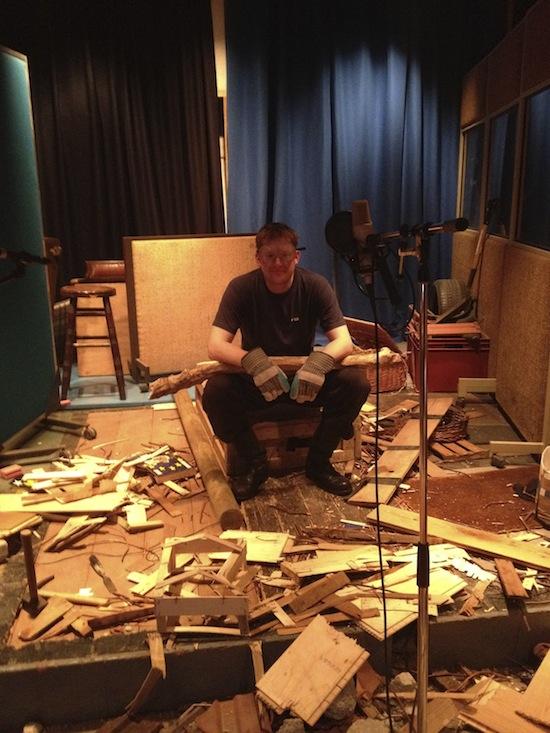Barnaby Symth destroying a house in foley.jpg