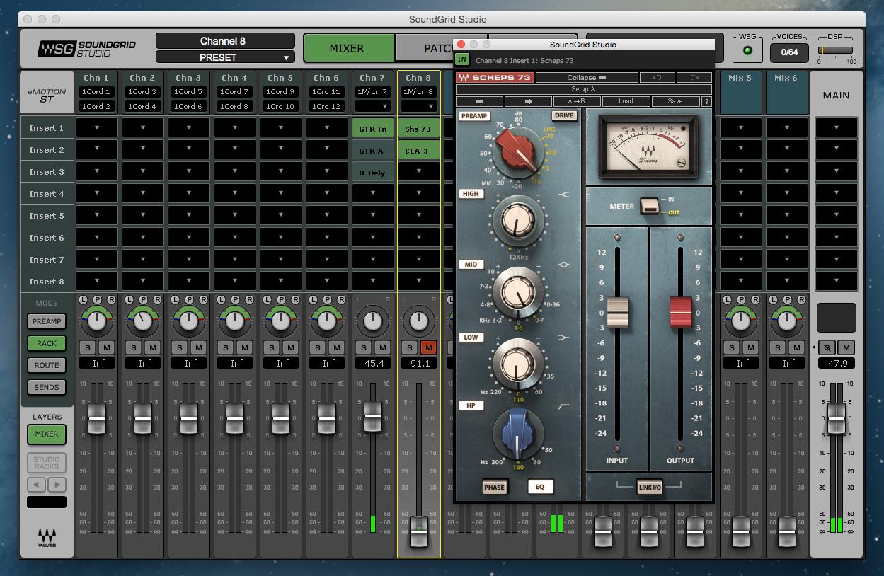 Waves Soundgrid Studio