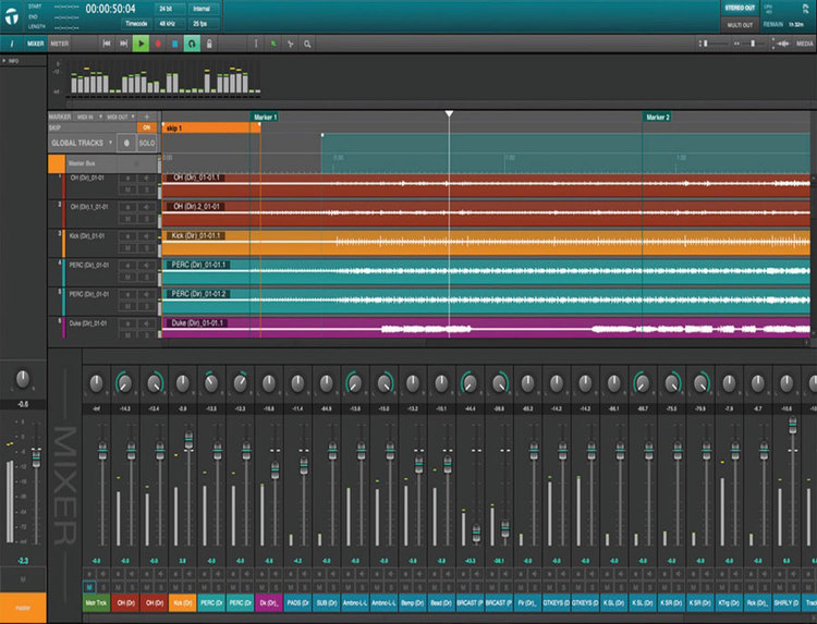 Waves Release Update To Tracks Live With Timecode & Template Support