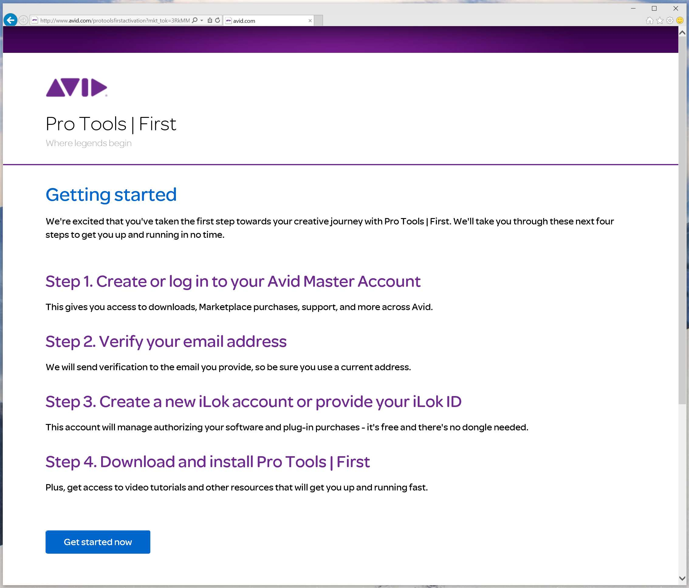 Pro Tools First Download