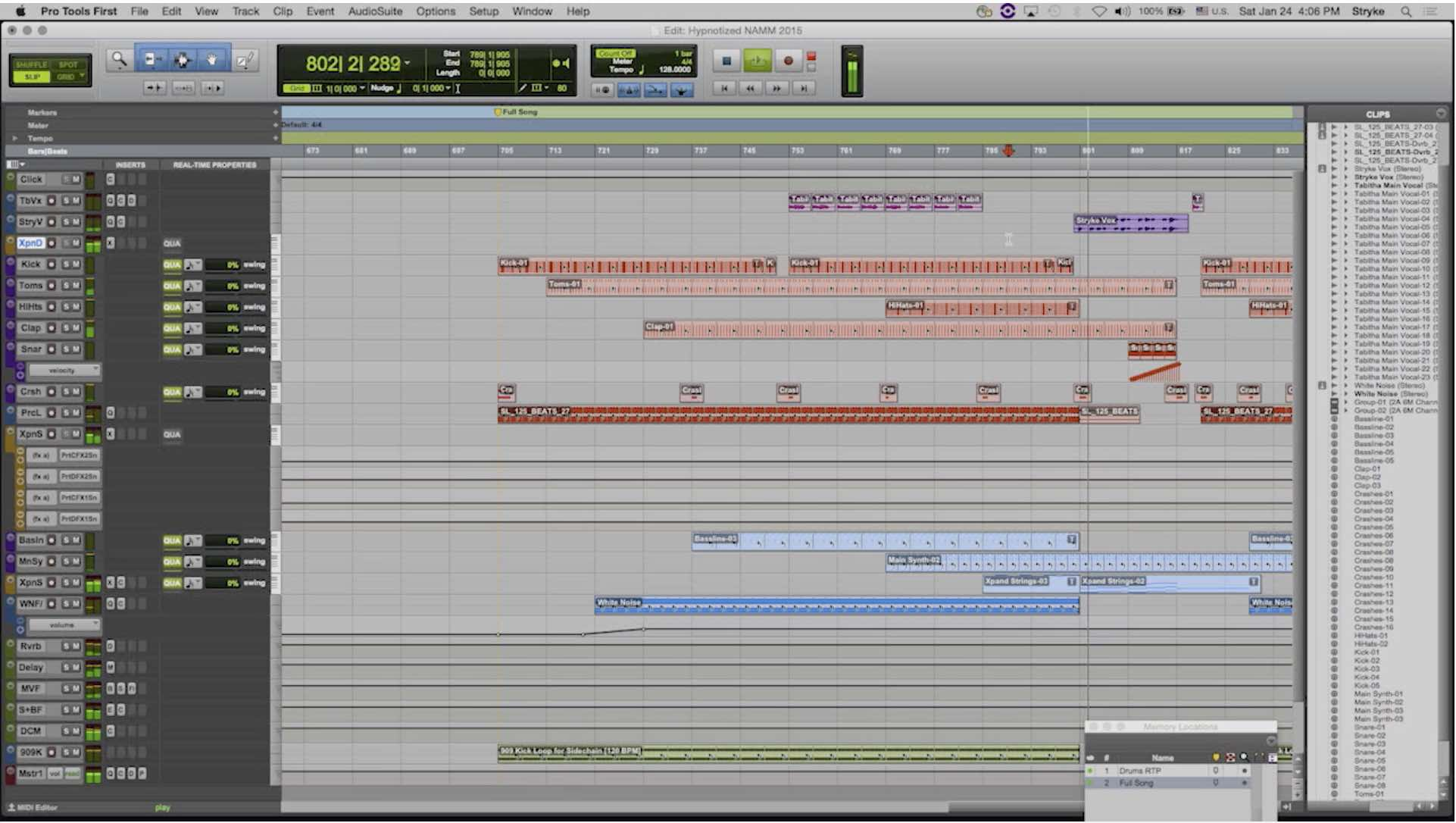 Pro Tools First Main GUI