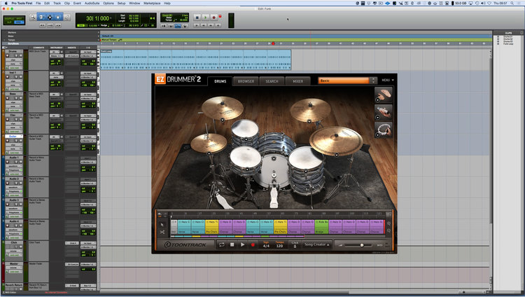 How To Use Any Virtual Instrument Plug in In Pro Tools First - Video
