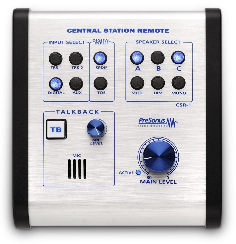 PreSonus Central Station PLUS Monitor Controller Remote