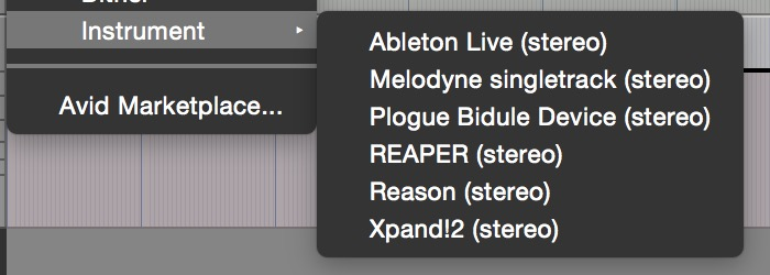 You can ReWire external apps into Pro Tools First
