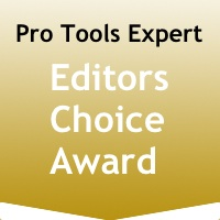 Pro Tools Expert Editors Choice Award