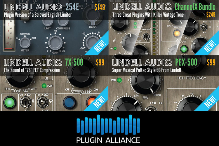 Lindell Join The Plugin Alliance Fold And Add A New Plug-in To The