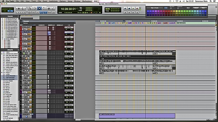 Audio Post Production Workflows Using Pro Tools - Part 12 - Mixing