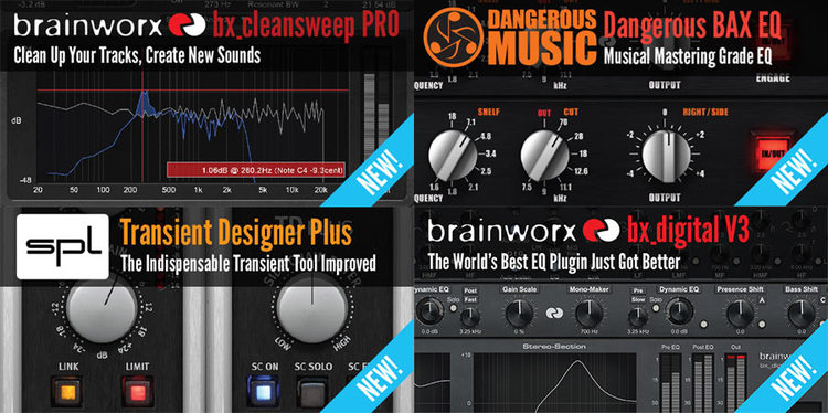 Plugin Alliance Release 4 New Plug-ins From Brainworx, Dangerous