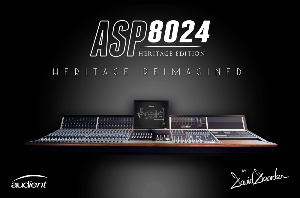 Pro Tools Expert Exclusive : Audient Announce Their New ASP8024 Heritage Edition Console