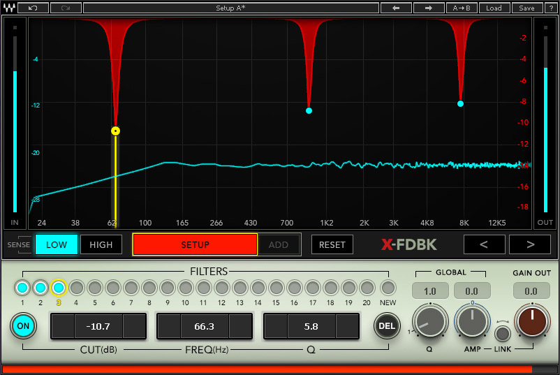 Waves Announce x-fdbk Plug-in For Live Sound Users