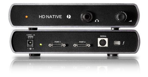 Avid Pro Tools HD Native Thunderbolt Unit