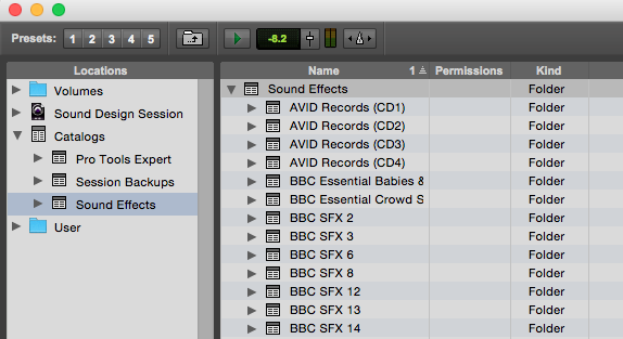 Pro Tools - Using Catalogs In The Workspace Browser To Index And