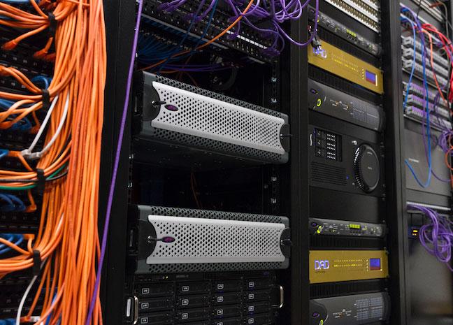 Jigsaw24 Avid S6 Install At Evolutions equipent rack