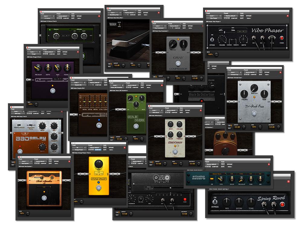 Avid Guitar Stomp Boxes