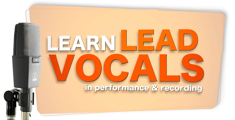 learn lead vocals performance recording video tutorial