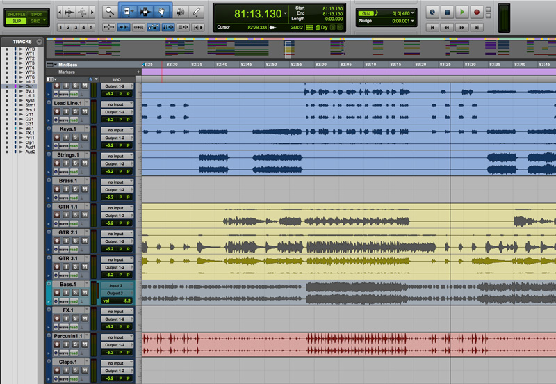 Does  Tacks In Pro Tools Make A Difference To You're Workflow