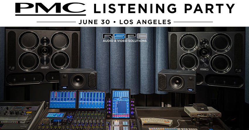 PMC Listening Party At RSPE Audio Solutions On Thursday 30th June - Book Now