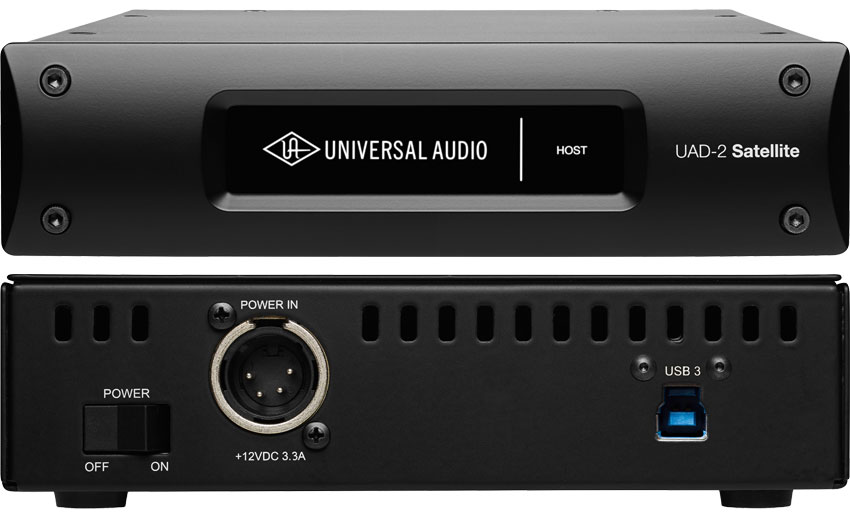 Universal Audio Starts To Ship UAD-2 Satellite USB DSP