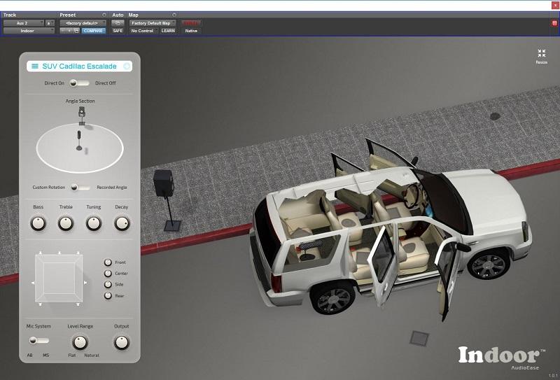 Audio Ease Indoor User Interface