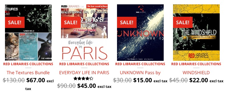 Red Libraries Announce Summer Sale