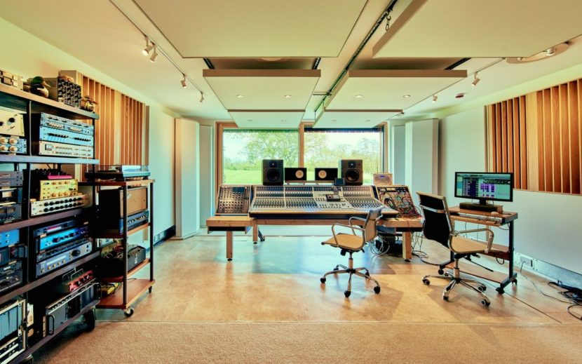 Decoy Studios flooded with natural light