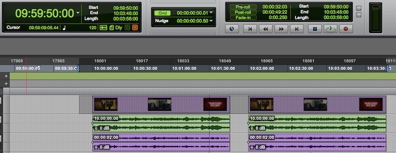 Pro Tools - Avid Video Engine Offline Bounce To QuickTime Bug - SELECTING BLANK MEDIA