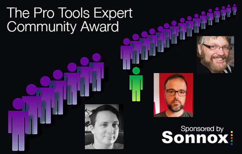 Sonnox Community Award - Winners For April, May & June 2016