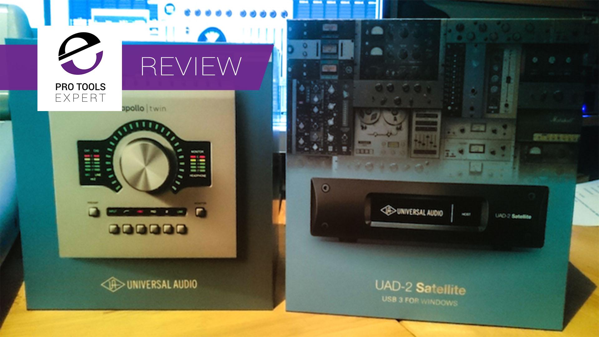 UAD Apollo Twin USB and Satellite Octo USB