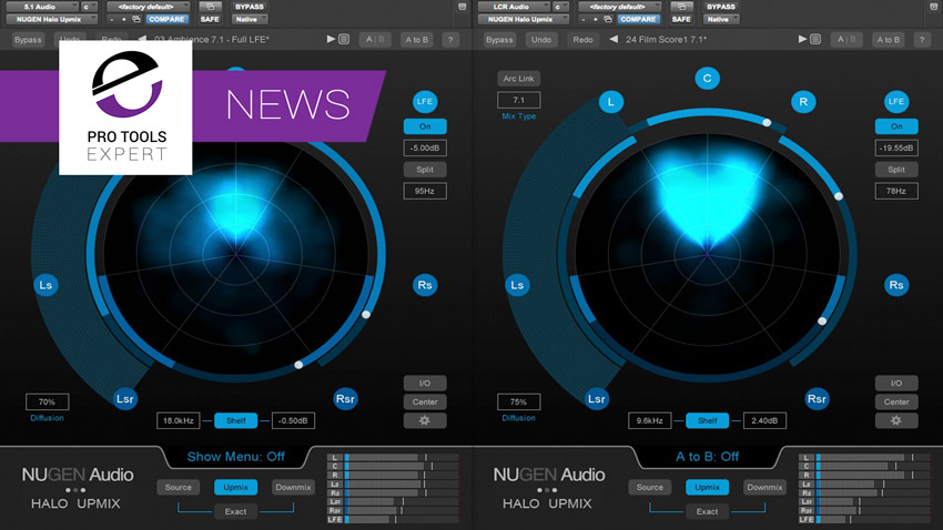 Nugen Audio Announce New Version Of Halo Upmix To Support Multichannel Inputs