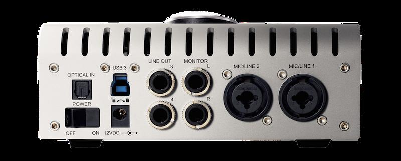 UAD Apollo Twin USB Back Panel