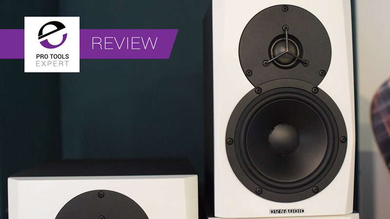 Close up on the Dynaudio LYD5 Active Studio Monitor