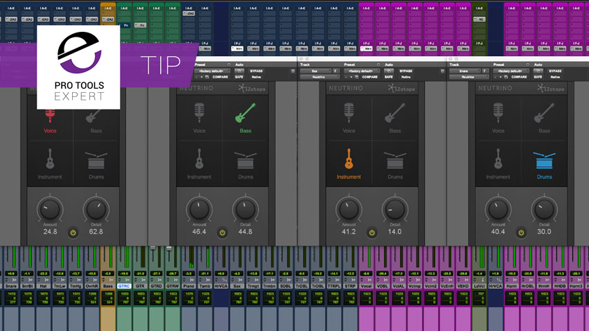 Tip - More About Spectral Shaping Used In Neutrino Free From iZotope