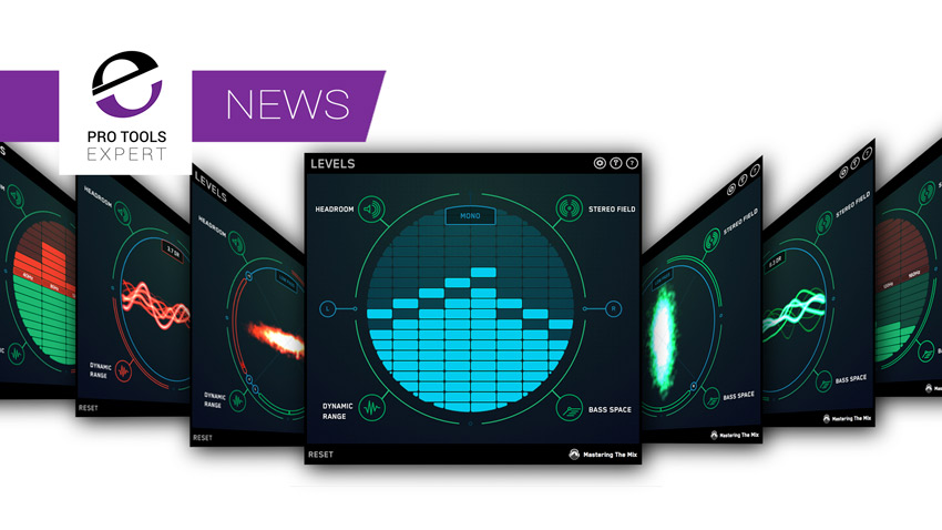 Mastering The Mix Announce LEVELS v1.1 Metering Plugin