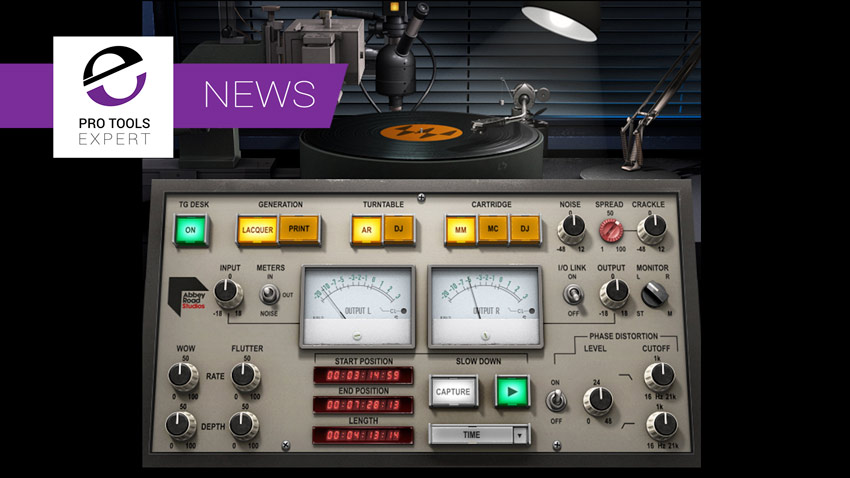 Waves Introduce Abbey Road Vinyl Plugin