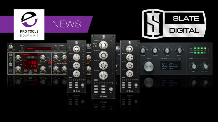 Slate Digital Announce New Plugins And Reduced Subscription Pricing