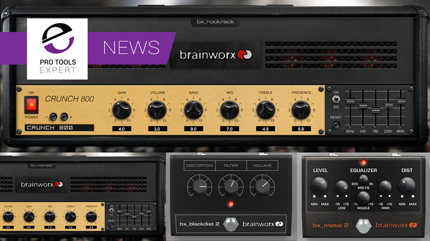 Plugin Alliance Announces 4 New Guitar Related Brainworx Plugins