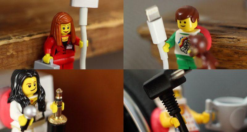 Using Sugru And Lego Figures