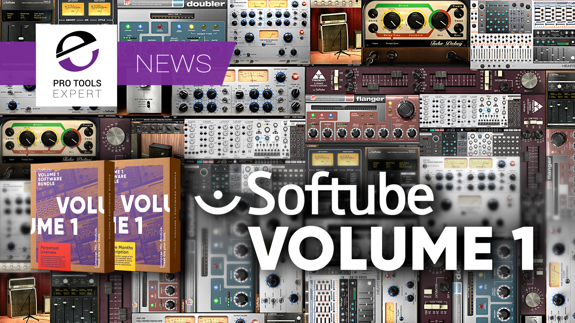 Softube Volume 1 - New 16 Plug-in Bundle With Low Cost