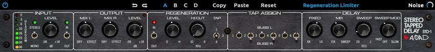 A/DA STD-1 Stereo Tapped Delay Plug-In -$199