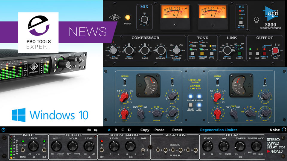 Universal Audio Release v9 0 Software With Windows 10