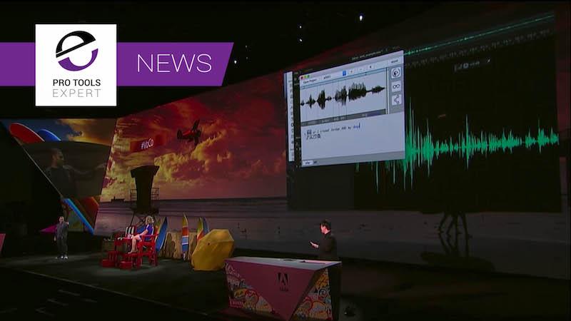 Adobe Project Voco at Adobe Max