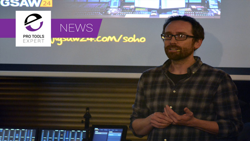 Simon Sherbourne From Avid At Mix With The Pros 3D