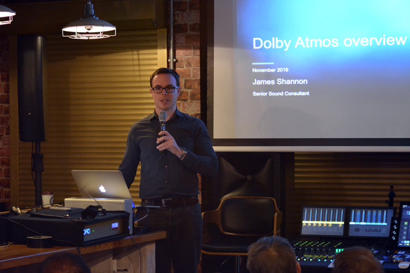 James Shannon from Dolby at Mix With The Pros 3D