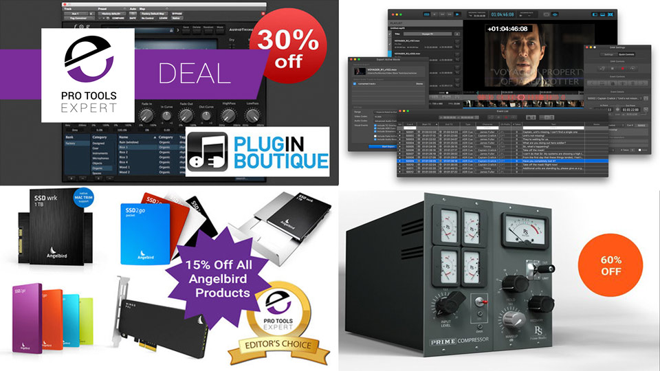 Pro Tools Expert Deals End November 24th 2016