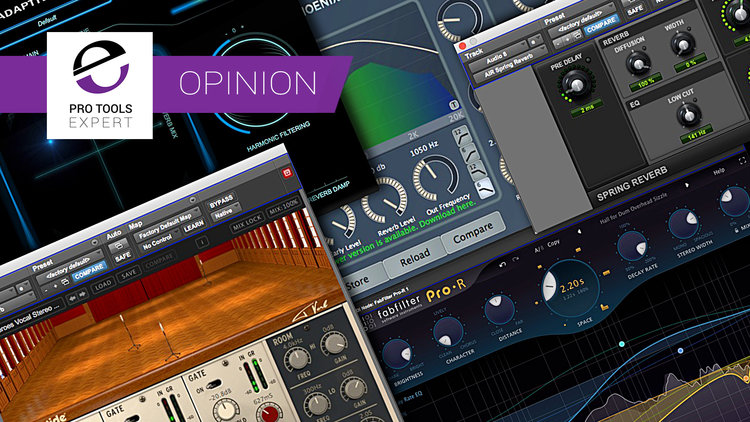 My Top 5 Reverb Plug-ins In Pro Tools | Pro Tools